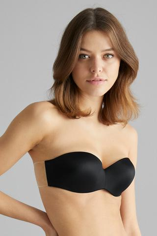 Back Free Push Up Bra