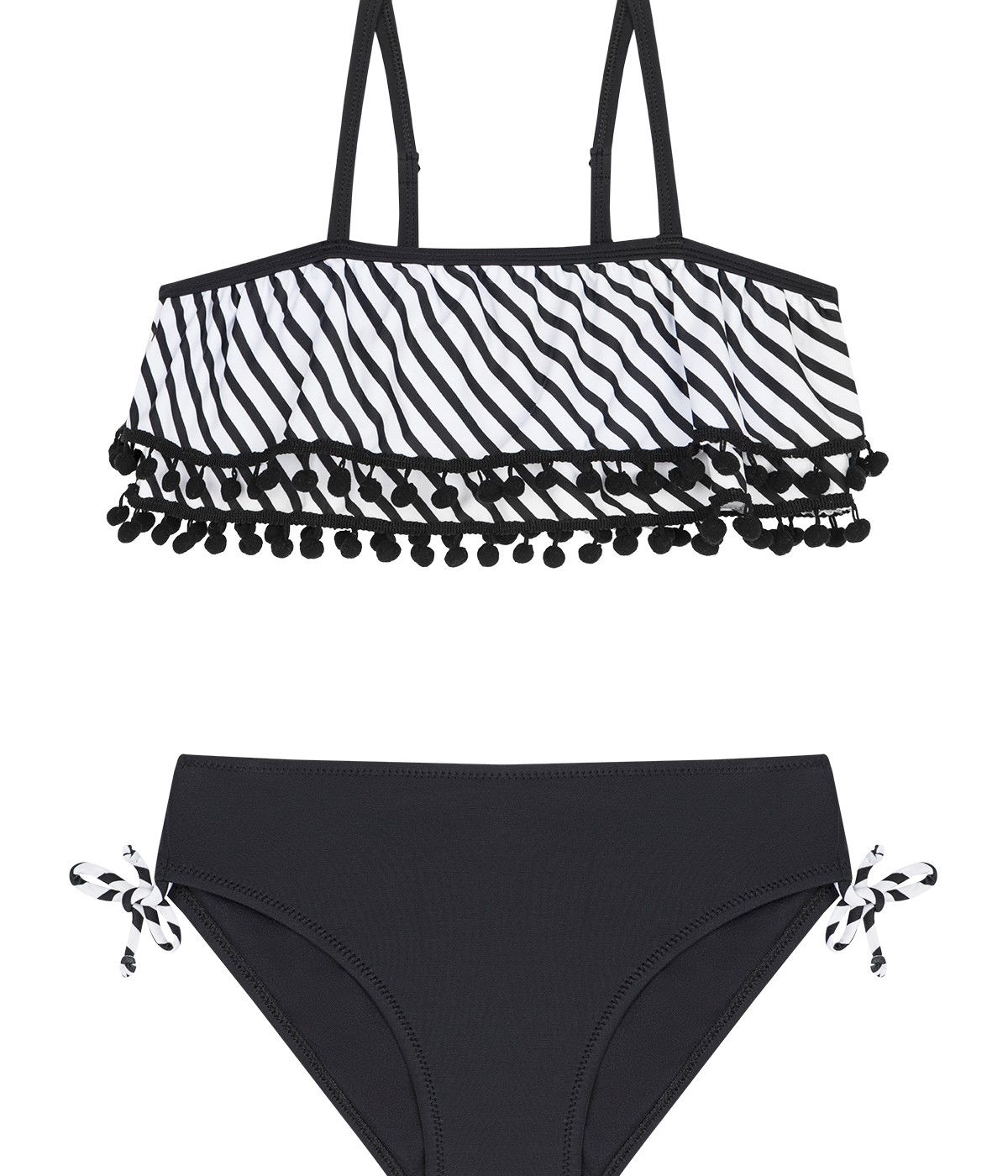Girls Bianconero Bikini Set