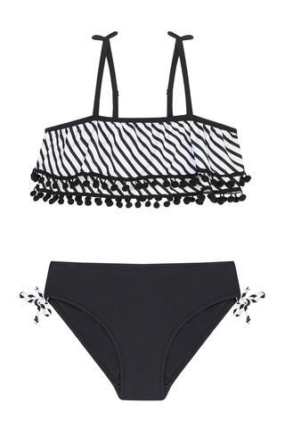 Costum Baie Bikini Feti?e Bianconero