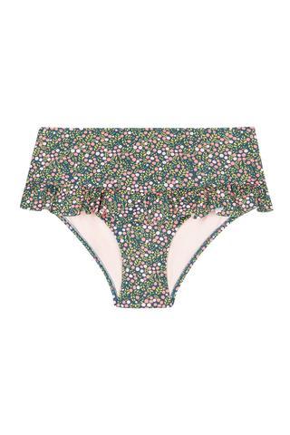 Bikini Chilot Carina Ruffle Cu Fustiță