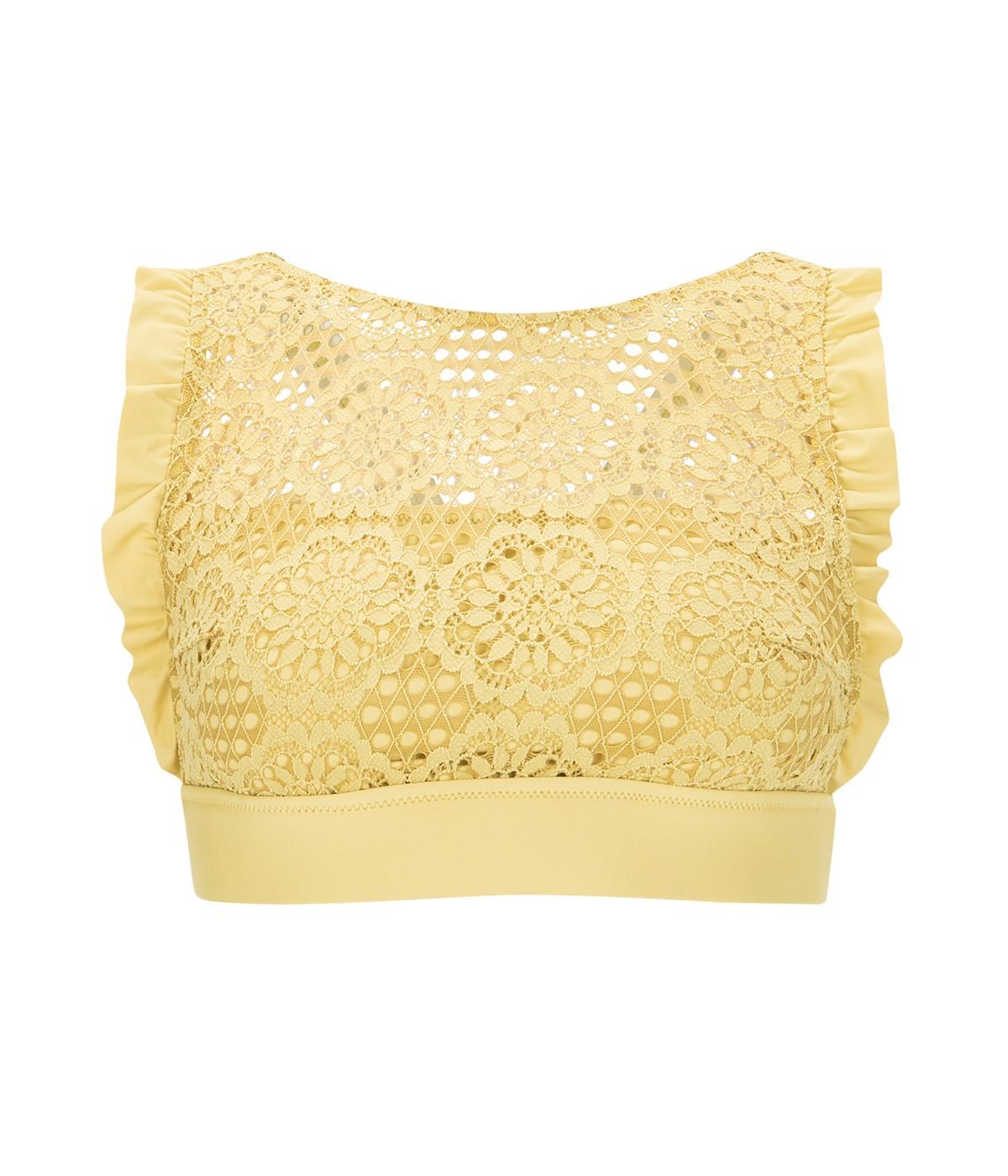 Marsilya Halter Bikini Top
