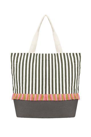 Tassel Stripe Bag
