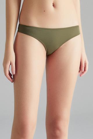 Basic Cheeky Bikini Bottom