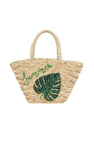 Leaves Straw Bag