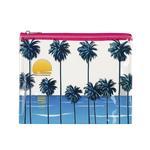 Aqua Transparent Bag