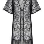 Faces Kimono