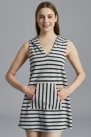 Striped Towel Dress
