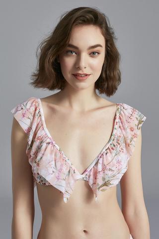 Bikini Superior Majorelle Triangle Frill