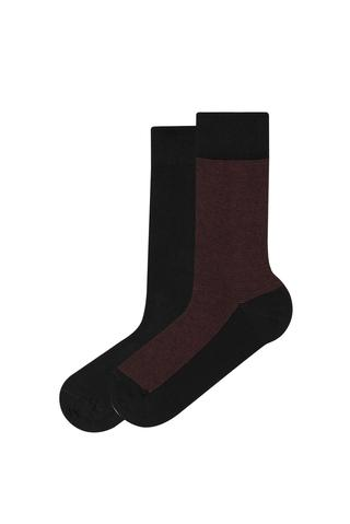 Men Bordy İn Liner Socks
