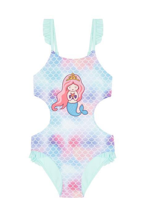 Girls Princess Suitkini