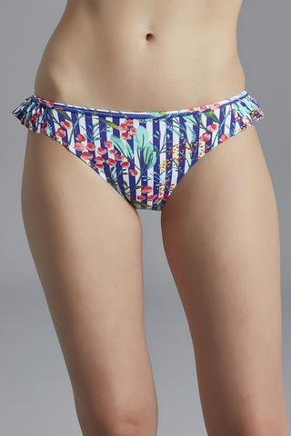 Bikini Chilot Blue Line Side