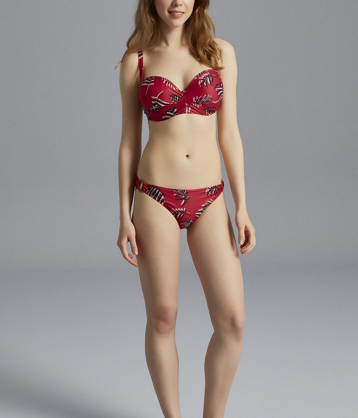 Violet Beauty Form Bikini Top