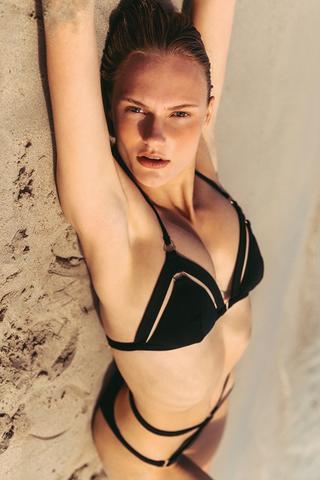 Bikini Sutien Strappy Triangle