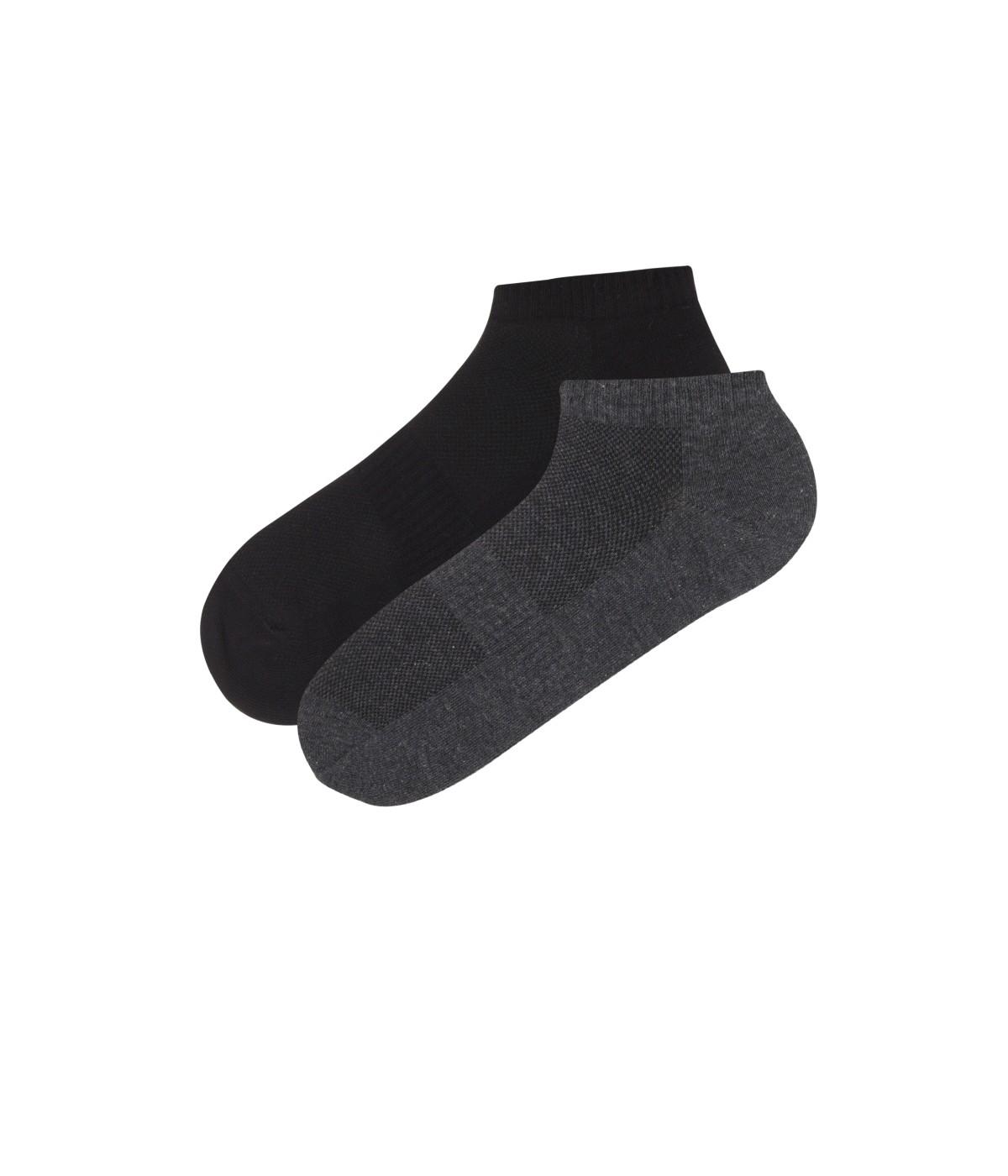 Men Act Basic 2 in 1 Liner Socks