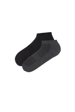 Men Act Basic 2 in 1 Liner Socks
