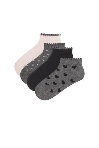 Girls Minis 4 in 1 Liner Socks
