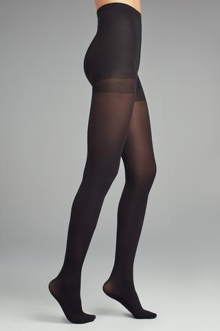 Ciorapi cu chilot opaci cu corset
