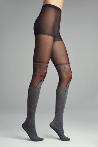 Face Cat Tights
