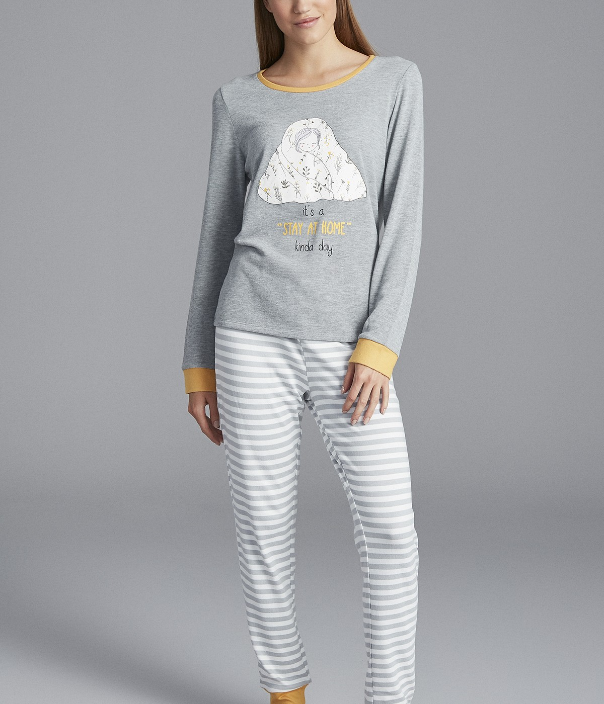 Fall Leaves Thermal T-Shirt