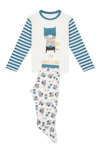 Set Pijama Baie?i Chosen Terma 2 Buc.