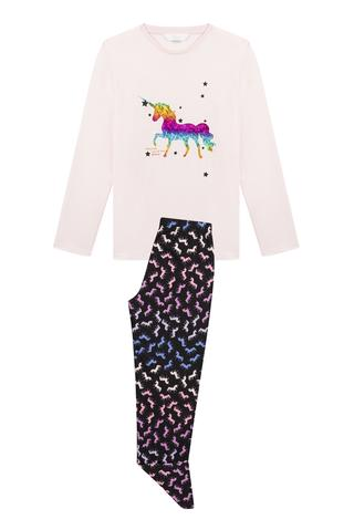 Set Pijama Teen Magicorn 2 Buc.