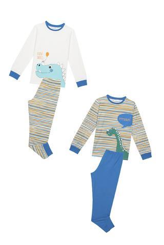 Set Pijama Băieți Rhino Saurus 4 Buc.