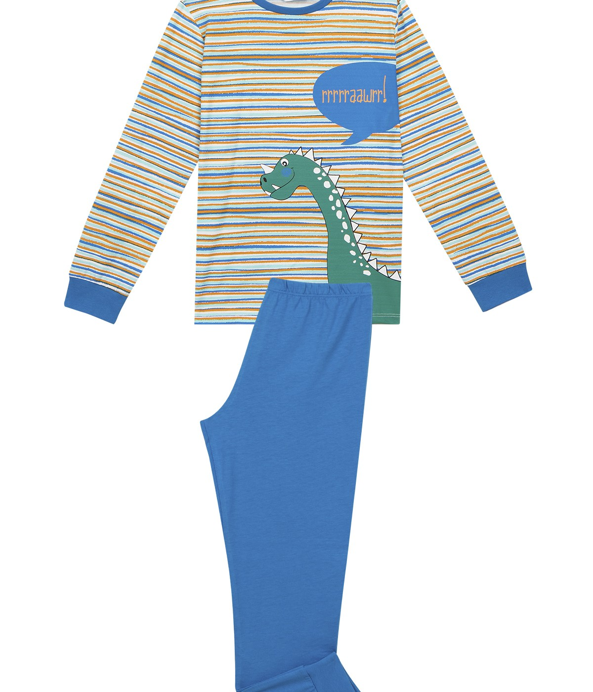 Boys Rhino-Saurus 4 In 1 Pj Set