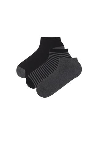 Men Line 3 in 1 Liner Socks