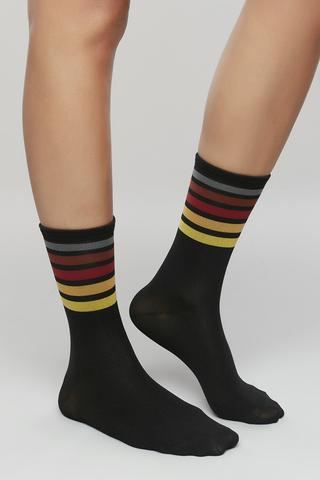 Act Striped Socks