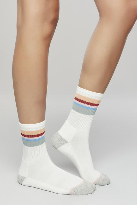 Act Blocked Socks