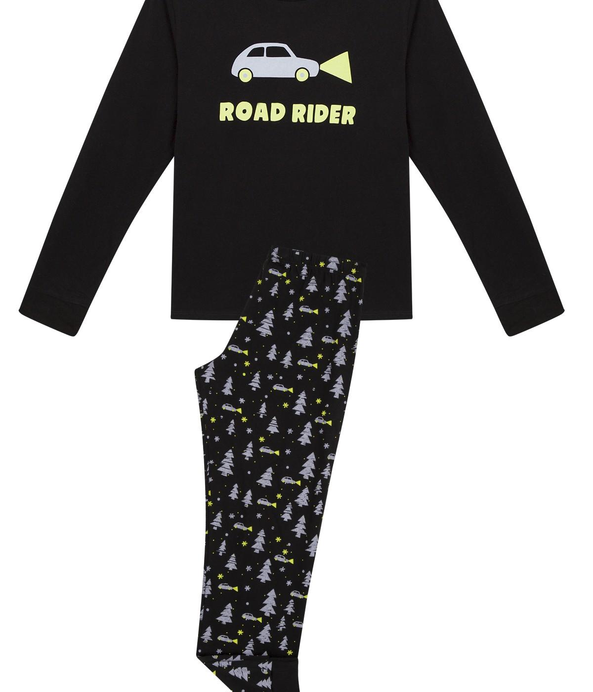 Boys Miyabi Night Rider 2 In 1 PJ Set