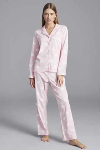 Set Pijama Cămașă Big Dot