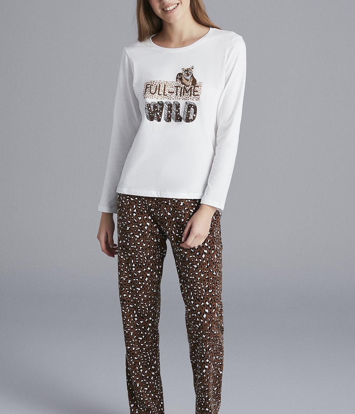 Wild Leo Pant Set
