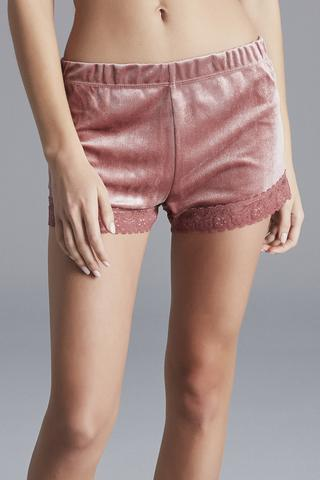 Pantalon Scurt Rose Velvet