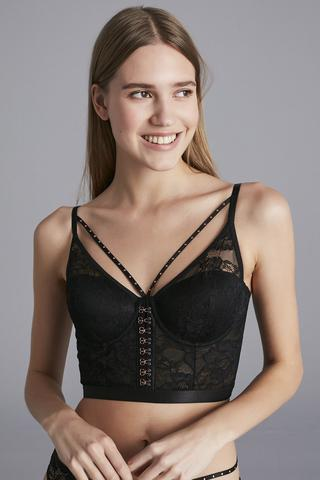 BLOOM LONGLINE BRA