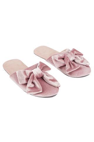 Papuci Rose Velvet