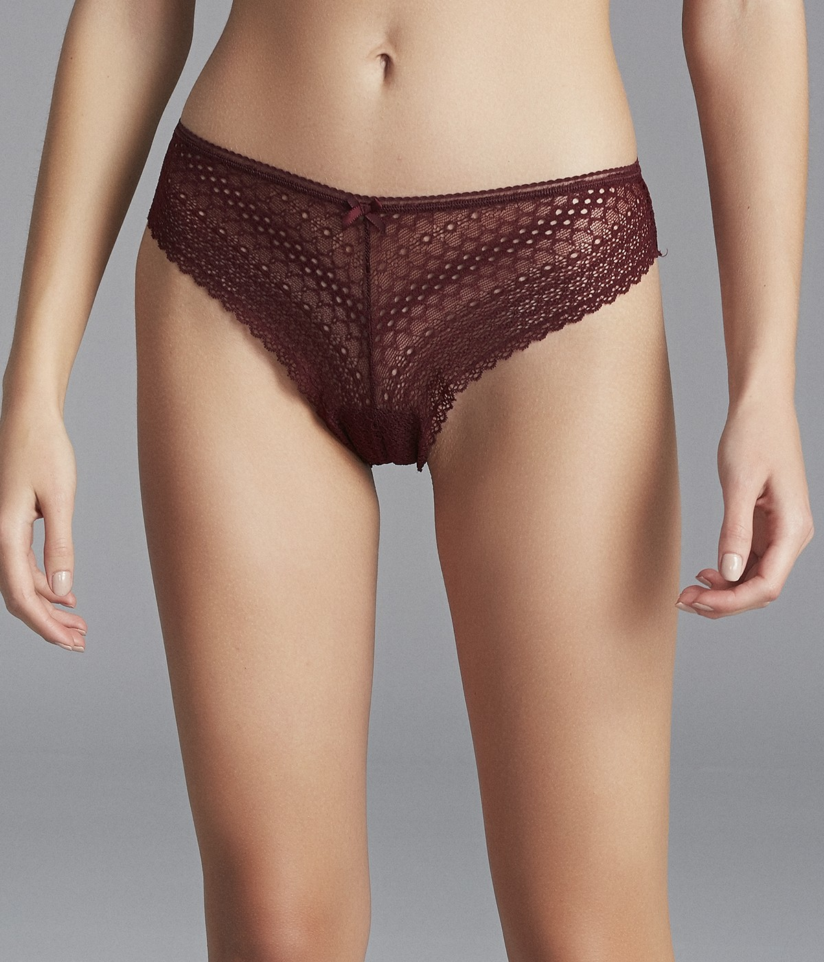 Rusty Lace Brazilian Panties