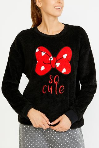 Disney Minnies Bow Sweatshirt