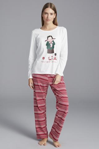 Set Pijama Knitting