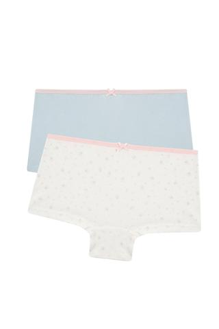 Girls Soft 2 In 1 Boxer