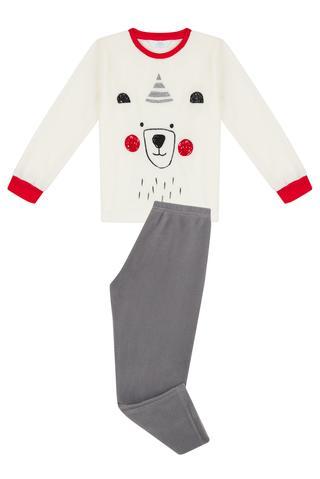 Set Pijama Băieți Bear Polar 2 Buc.