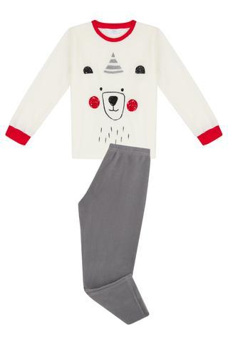 Set Pijama Baie?i Bear Polar 2 Buc.
