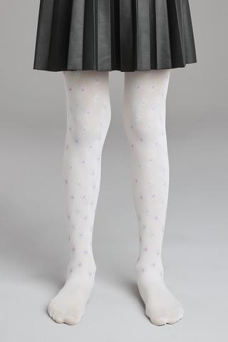 Pretty Dark Daisy Tights