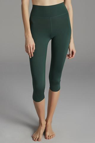 HIGH RISE STRETCHY CAPRI LEGGING