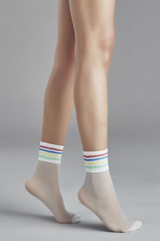 Șosete Lungi Rainbow Stripe