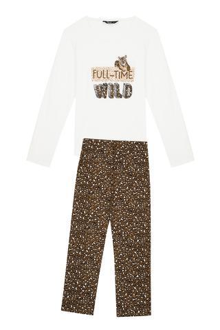 Set Pijama Wild Leo