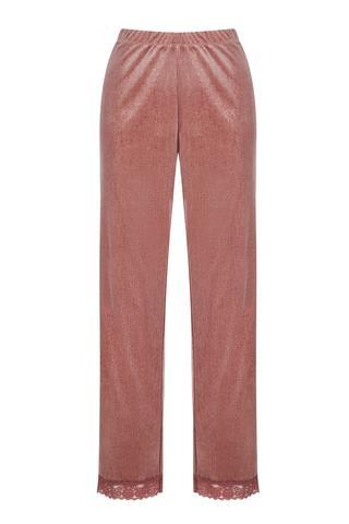 Rose Velvet Pantolon