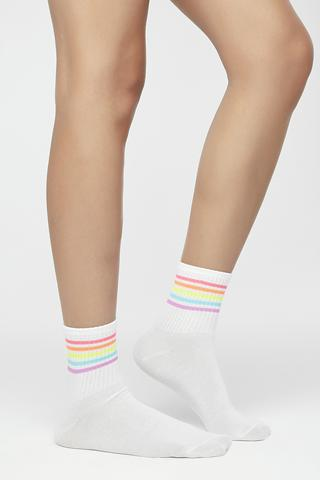 COLOUR STRIPED SOCKS