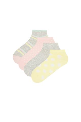 DOTS 4IN1 Liner Socks
