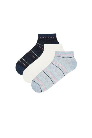 TEXTURED 3IN1 LINER SOCKS